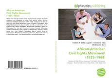 Borítókép a  African-American Civil Rights Movement (1955–1968) - hoz