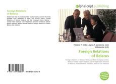 Couverture de Foreign Relations of Belarus
