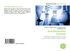 Bookcover of Acid Dissociation Constant