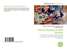Buchcover von Political Positions of Mitt Romney