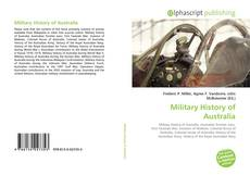 Bookcover of Military History of Australia