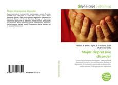 Bookcover of Major depressive disorder