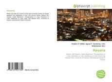 Capa do livro de Havana