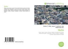 Bookcover of Quito
