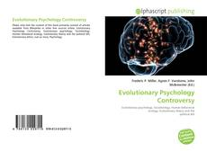 Bookcover of Evolutionary Psychology Controversy