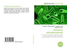 Bookcover of Oxidative phosphorylation