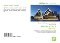 Capa do livro de Republicanism in Australia