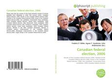 Bookcover of Canadian federal election, 2006