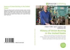 Обложка History of Union Busting in the United States