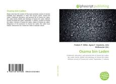 Bookcover of Osama bin Laden