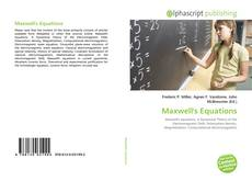 Bookcover of Maxwell's Equations