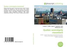 Copertina di Quebec sovereignty movement