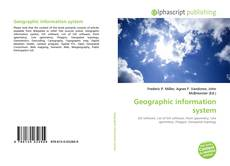 Bookcover of Geographic information system