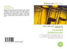 Couverture de Controlled Substances Act