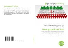 Buchcover von Demographics of Iran