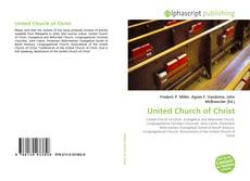 Bookcover of United Church of Christ