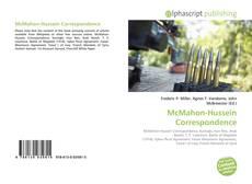 Bookcover of McMahon-Hussein Correspondence