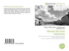 Portada del libro de Mission San Juan Capistrano