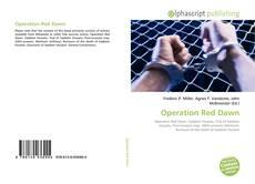 Copertina di Operation Red Dawn