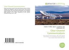 Bookcover of Clear Channel Communications
