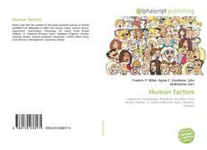 Bookcover of Human factors