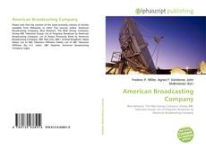 Bookcover of American Broadcasting Company