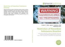 Обложка Restriction of Hazardous Substances Directive