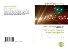 Bookcover of Automatic Number Plate Recognition