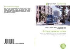 Portada del libro de Boston transportation