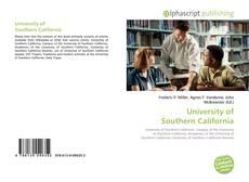 Couverture de University of Southern California