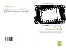 Bookcover of Laurence Olivier