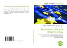 Bookcover of European Community competition law