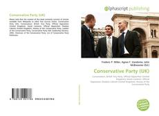 Bookcover of Conservative Party (UK)