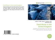 Обложка Food Waste in the United Kingdom
