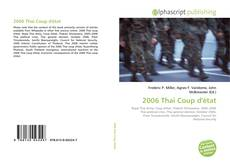 Bookcover of 2006 Thai Coup D'état