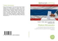 Bookcover of Thaksin Shinawatra