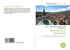 Bookcover of Reformation in Switzerland