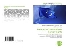 European Convention on Human Rights kitap kapağı