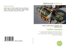 Copertina di Sulfur mustard