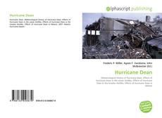 Hurricane Dean kitap kapağı
