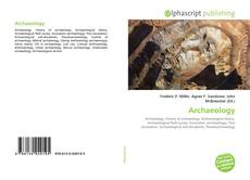 Bookcover of Archaeology
