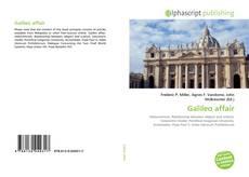 Bookcover of Galileo affair