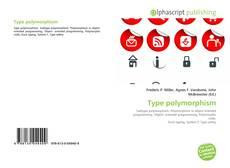 Buchcover von Type polymorphism