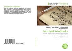 Pyotr Ilyich Tchaikovsky kitap kapağı