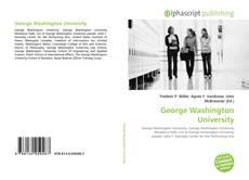 Bookcover of George Washington University