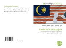 Parliament of Malaysia kitap kapağı