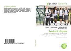 Обложка Academic degree