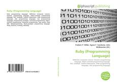 Capa do livro de Ruby (Programming Language)
