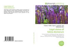 Bookcover of Legal status of Salvia divinorum