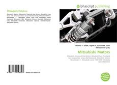 Bookcover of Mitsubishi Motors